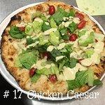 Our Chicken Caesar Pizza.
