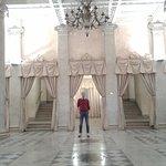 L'ingresso con il pavimento Foyer