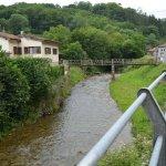 Paisaje encantador carretera de Sotos a Covadonga