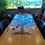 The table of our tasting.