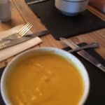 Butternut and squash soup.