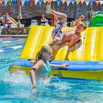 The Wibit Floating Obstacle Course