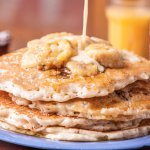 Banana Walnut Pancakes!