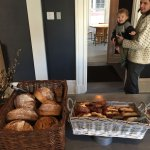 ploughman's lunch bread and pastries