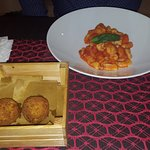 My boyfriend said the arancini were the best thing he ate in Italy