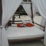 Preferred Club - Private Beach area - comfortable cabanas!