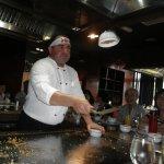 teppanyaki grill..yummy