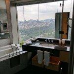 Wonderful bathroom, everything works great good shower
