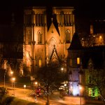 Inverness Cathedral from the Castle