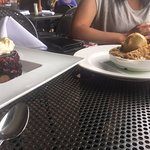 Blueberry Key Lime and Warm Apple Crisp