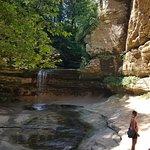 LaSalle canyon waterfall