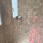 5 étoiles mieux vaut un bon ibis 1000 € Serviette pas changée savon sur le pommeau de douche .