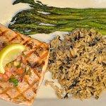 Grilled wild salmon!