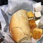 Bread and cornbread - Great!