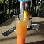 Aloha kiss at happy hour (1/2 price appies & select drinks)