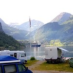 Bilde fra Geirangerfjorden Feriesenter