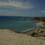 View of pissouri beach.