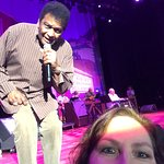 Me & Charley Pride taking a selife!