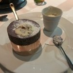 Raspberry soufflé, a desert to die for!