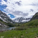 Another view of Maroon Bells