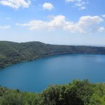 The volcanic lake helps keep the place cool