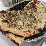 Pudina Roti, a special Tandoori bread, at Haandi Indian restaurant. (Wes Albers)