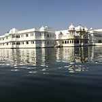 The Lake Palace from the boat