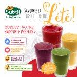 Des smoothies frais et somptueux, offert en quatre saveurs qui épaterons vos papilles.