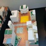 Vue d'ensemble de l'expo temporaire sur l'urbanisme collectif