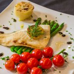 Fresh Sea bass with Fresh Season's Vegetables