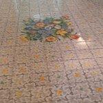 Hallway with beautiful tile