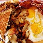 All American breakfast 6.99 daily
