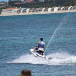 """Heading out to jet ski """"play area."""""""