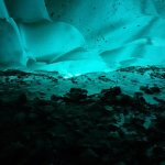 Inside a Mendenhall ice cave