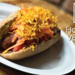 Hot-Dog vegano con pan integral