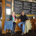 Mary Hollowell & Stephen Richards in nearby Kings Arms pub