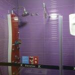 Interesting shower