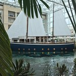 Moor Restaurant on a Sailboat