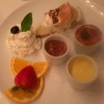 Four Part Dessert Sampler