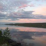 Late evening view of the Gunflint Lake