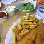 Seaside fish & chips