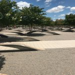 Picture of Pentagon memorial benches