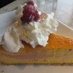 Mango Cheese Cake...........