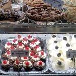 Dessert display (also to-go)