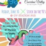 90's Night at CVI June 30 Friday!!!