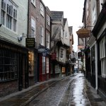 Shambles with no tourists in sight