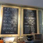 Mexican tacos, burritos, tamales, quesadillas....