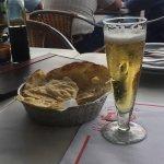 Almoço de domingo, prato oswaldo aranha: fenomenal!! Eles servem uma casquinha de pão delícia! A