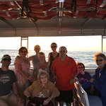 Our whole group enjoying the cruise