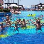 Water Aerobics at the pool was fun!